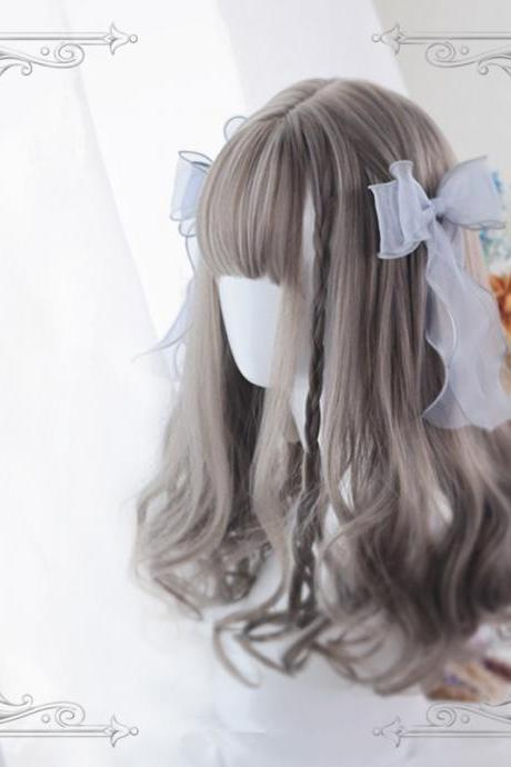 Harajuku Lolita Kawaii Long Curly Wigs Daily Wigs LK17112109