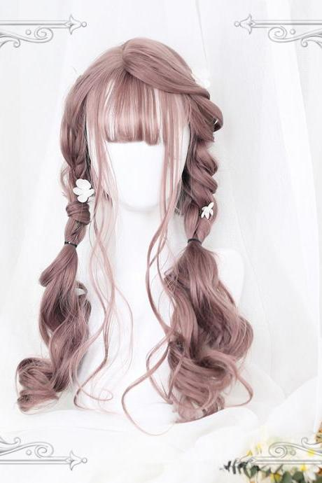 J-fashion Harajuku Lolita Kawaii Long Curly Daily Wigs LK17112111